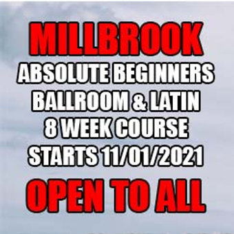 MA Absolute Beginners Ballroom & Latin - Millbrook