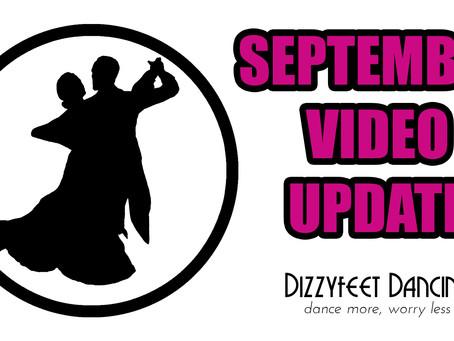 September Video Update!