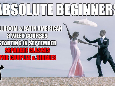September classes - purchase your place now!