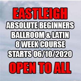 TA Absolute Beginners Ballroom & Latin - Eastleigh