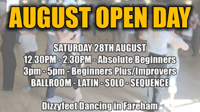 Free August Open Day - First week of September classes for free too!