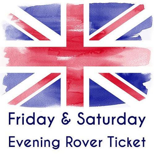 Friday & Saturday Evening Admission