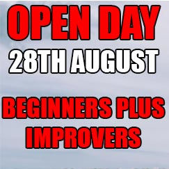 August Open Day - BEGINNERS+/IMPROVERS