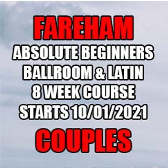 SC Absolute Beginners Ballroom & Latin - Fareham