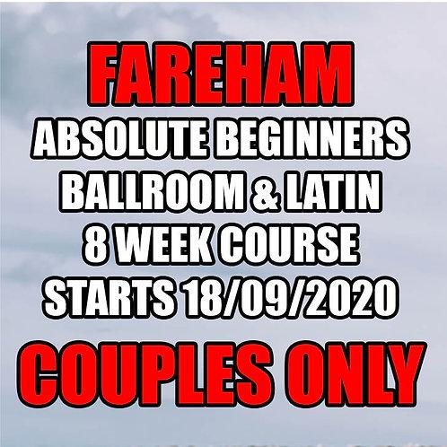 FC Absolute Beginners Ballroom & Latin - Fareham