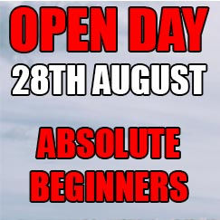 August Open Day - ABSOLUTE BEGINNERS
