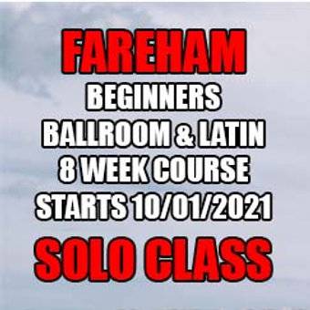 SS Absolute Beginners Ballroom & Latin - Fareham