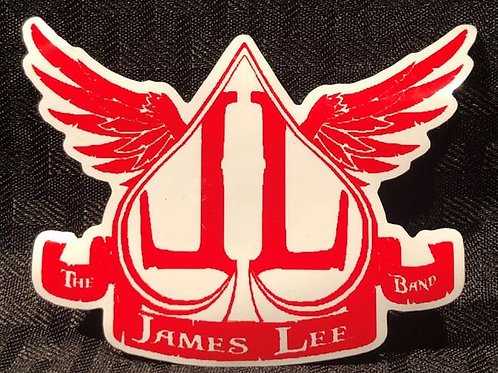 James Lee Band Sticker