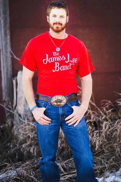 James Lee Band Red Shirt