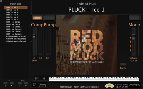 RedMod Pluck