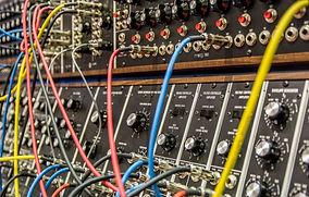 Modular synthesizer background