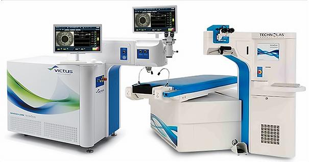 аппарат для фемтосекундной лазерной хирургии катаракты