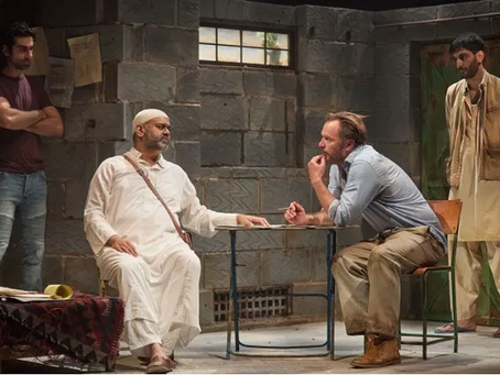 """Review of Ayad Akhtar's """"The Invisible Hand"""" at The Kiln Theatre"""