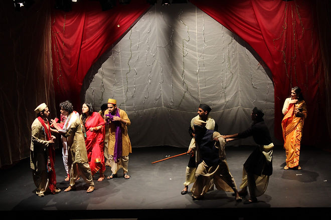 An adaptation of Tirso de Molina's play from the golden age of Spanish theatre, re-imagined for Indian sensibilities.