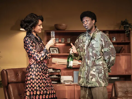 Review of 'The Death of a Black Man' at the Hampstead Theatre