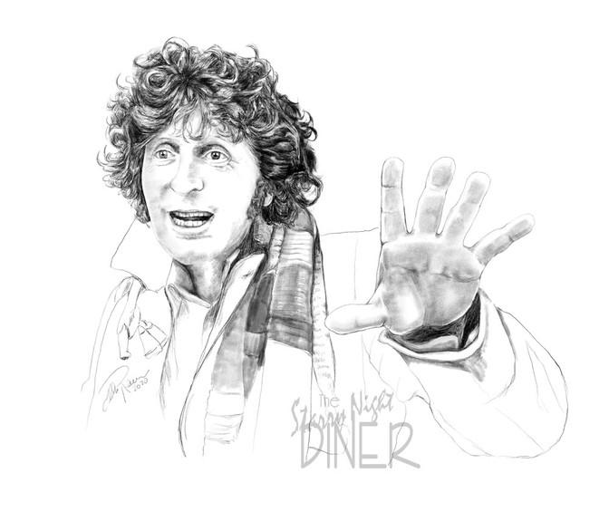 Doctor #4 Tom Baker