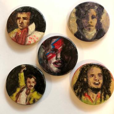 Dead Musicians - Elvis, Freddie, Prince, Bowie, Marley