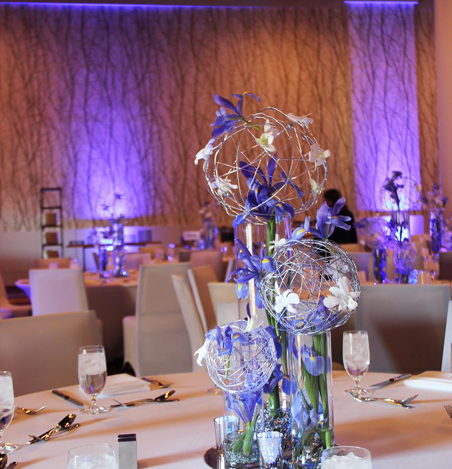 Blue and White Iris w Silver Orbs.jpg