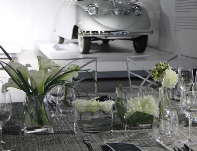 White and Silver Long Modern Grouping 2.