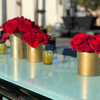 Red Roses in Gold Vases Hollywood (6).jp