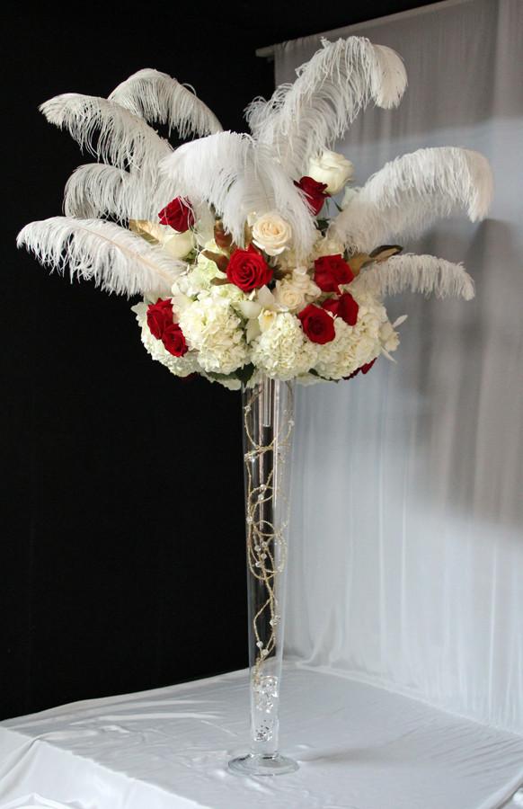 White Plume w Rose.JPG