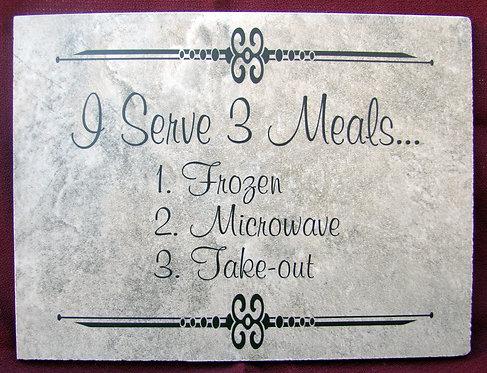 I Serve 3 Meals