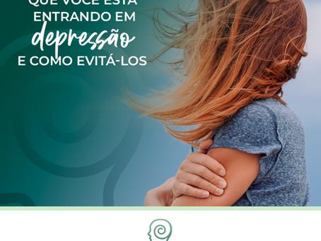 5 sinais de depressão