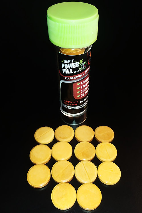 Power Pill Plus 40 (Φόρμουλα Βενζίνης και Πετρελαίου για έως 40 λίτρα καυσίμου)
