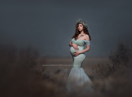 Think Maternity Sessions are CREEPY?
