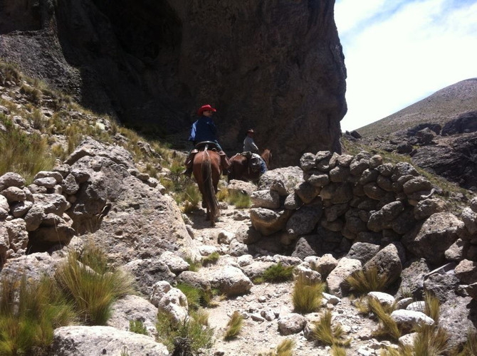 WOMEN´S INITIATION HORSE  RIDING JOURNEY IN COLCA CAÑON, AREQUIPA, PERU November POSTPONED UNTIL NEW