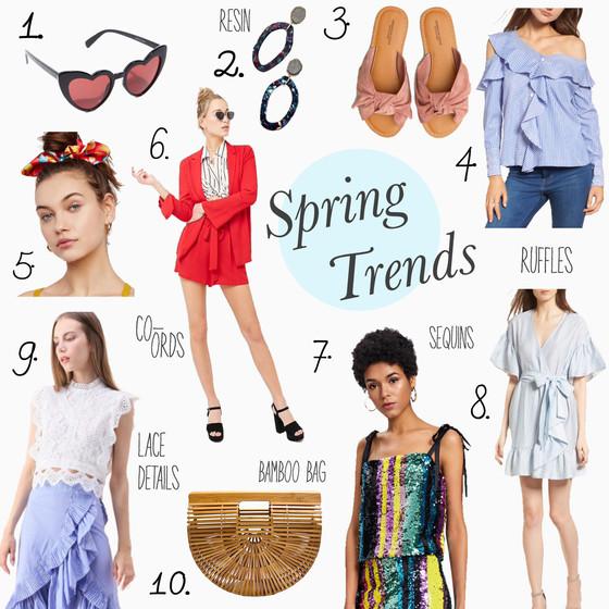 Spring Trends I'm Loving
