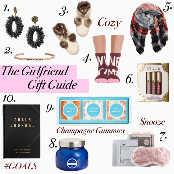 Girlfriend Gift Guide $50 and Under