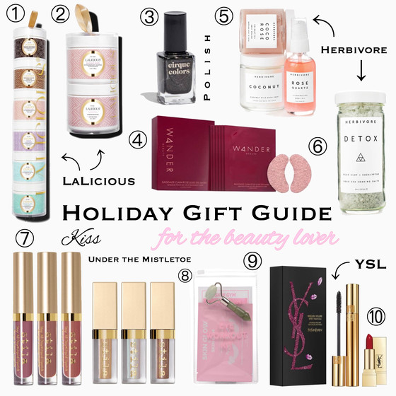 Beauty Lovers Gift Guide 2018!