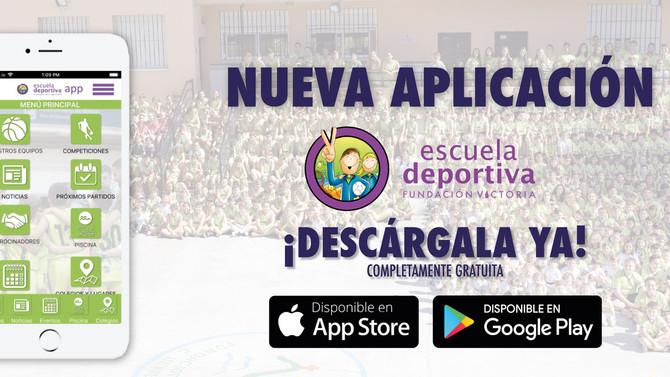 La Escuela Deportiva Fundación Victoria estrena aplicación móvil