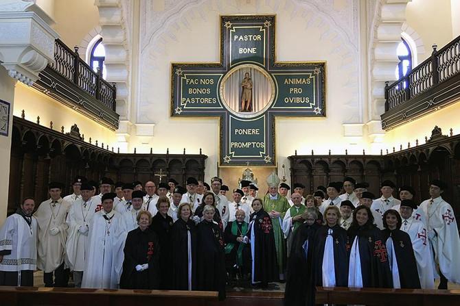 Caballeros y Damas del Santo Sepulcro de Jerusalén, en Málaga