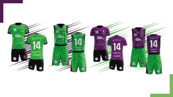 La Escuela Deportiva estrenará esta temporada nuevas equipaciones