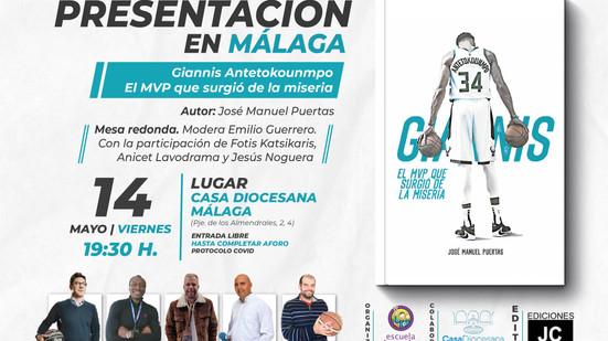 Casa Diocesana acoge la presentación de la biografía en español de la estrella NBA Antetokounmpo