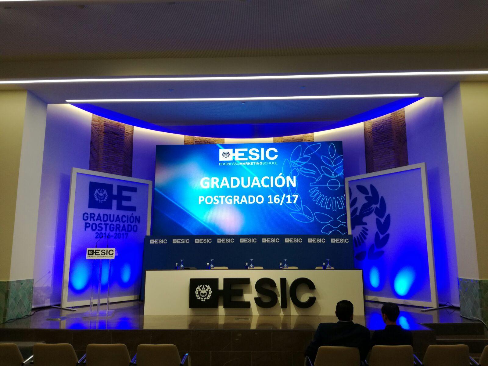Graduación ESIC