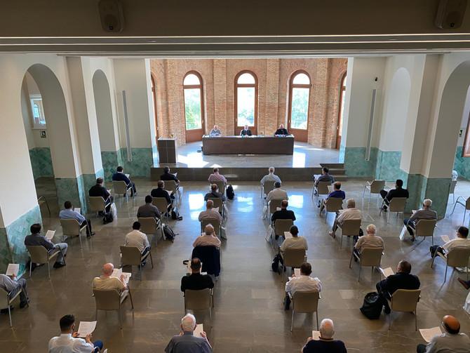 El clero conoce las Prioridades Pastorales Diocesanas 20-21