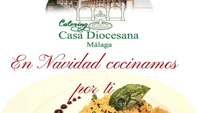 Esta Navidad, el Catering Casa Diocesana cocina por ti