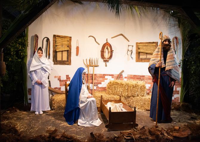 Los malagueños se vuelcan con el Belén Viviente Diocesano