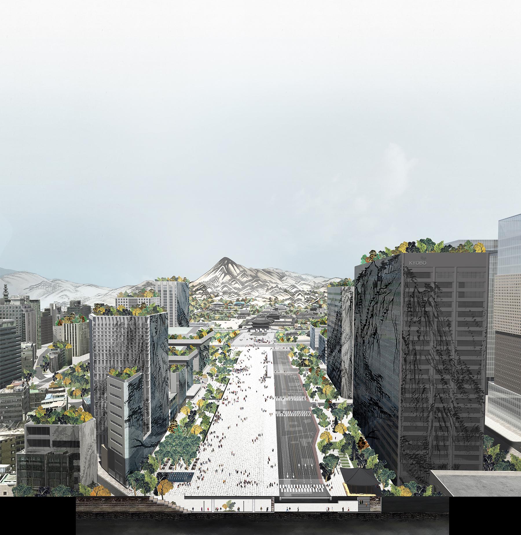 새로운 광화문광장 조성 설계공모