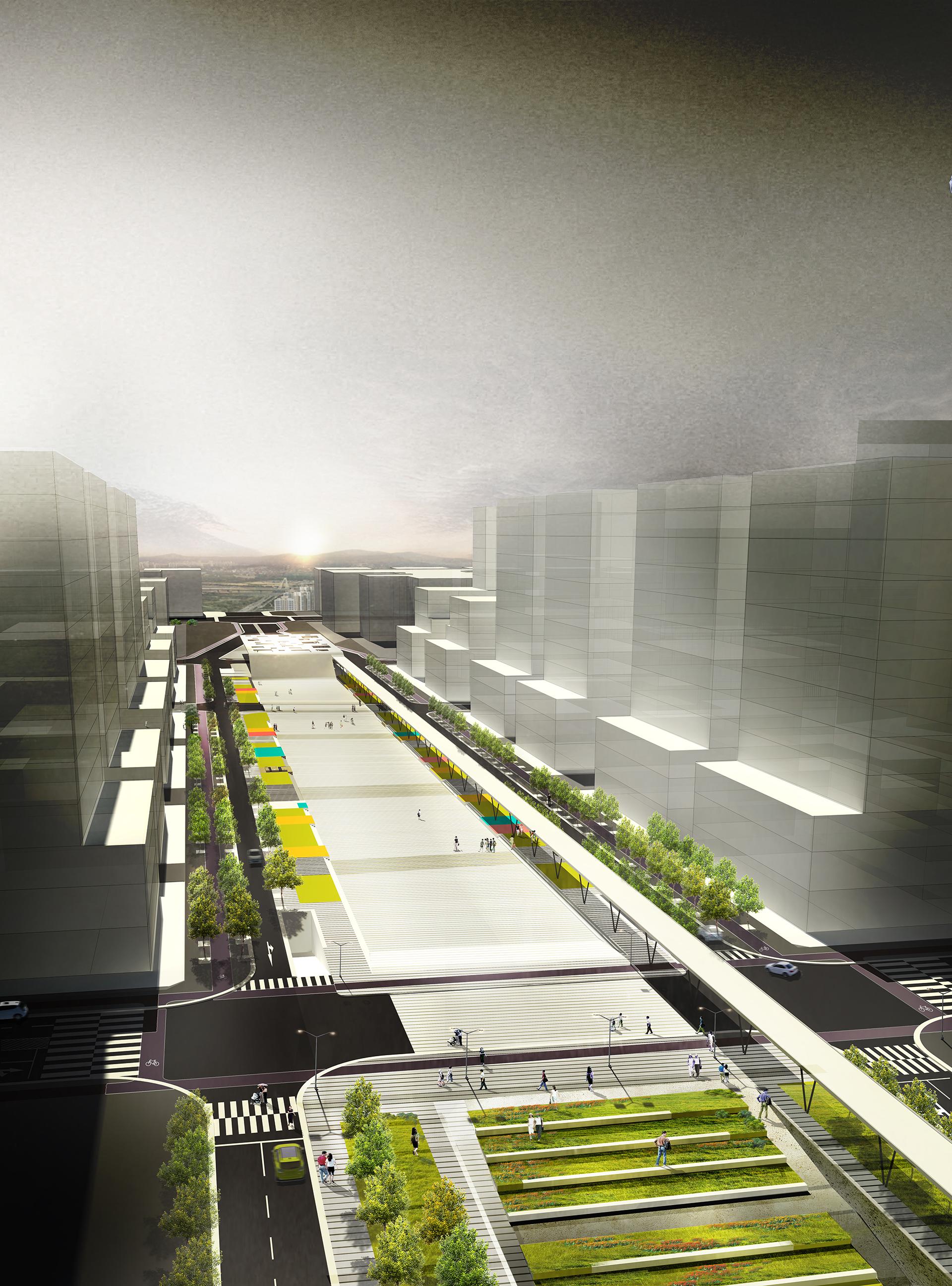 행정중심복합도시 도시상징광장 설계공모