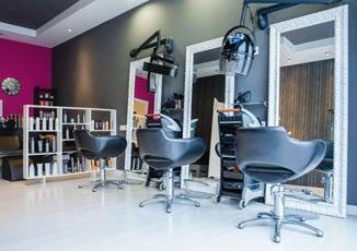 Salons de coiffure et de beauté