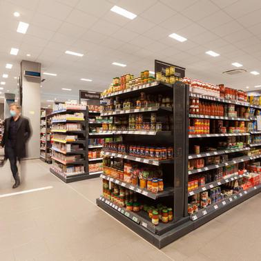 Points de vente de produits alimentaires