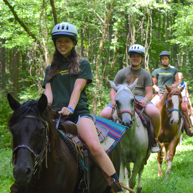 Group trail rides