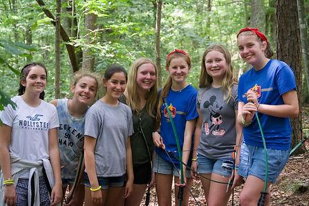 W2 Tuesday Girls Group Archery - 16 of 9