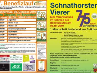 7. Benefizlauf im Struckhof + Schnarthorster Vierer