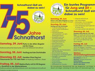 775 Jahre Schnathorst
