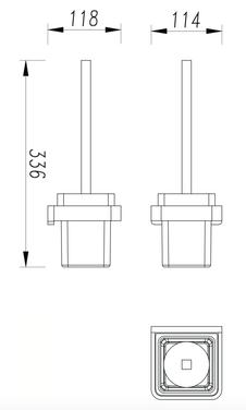 TOILET BRUSH HOLDER 2688